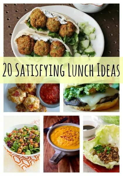 Lunch ideas are something that many people struggle to come up with – myself included. But not anymore! Here are 20 different lunch ideas that will fill you up and satisfy your tummy rumbles.