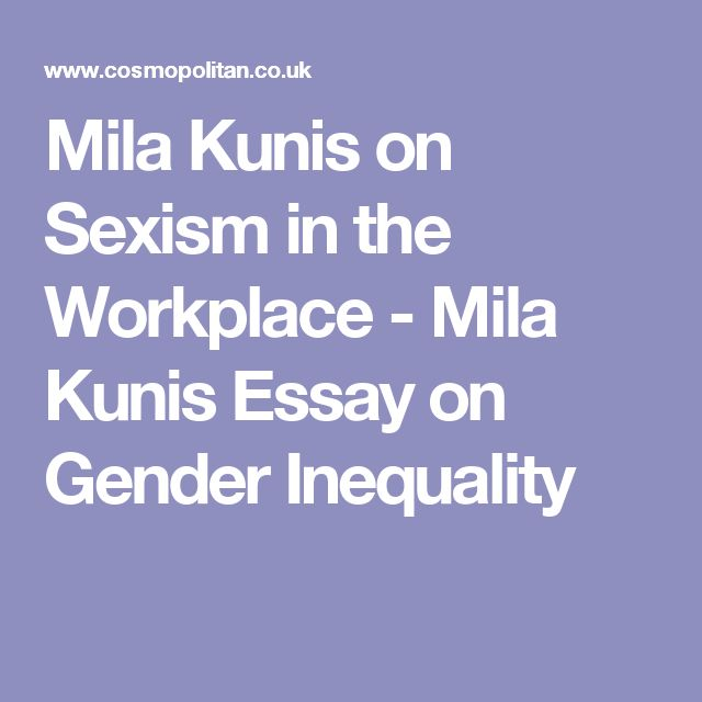 essays on gender equality in the workplace college paper service   essays on gender equality in the workplace this is not an example of  the work written