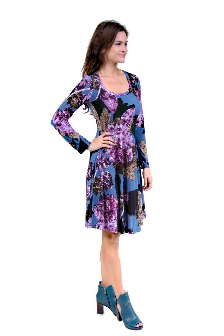 http://247comfortapparel.com/women/dresses/24-7-comfort-apparel-women-s-purple-floral-print-dress-11829.html
