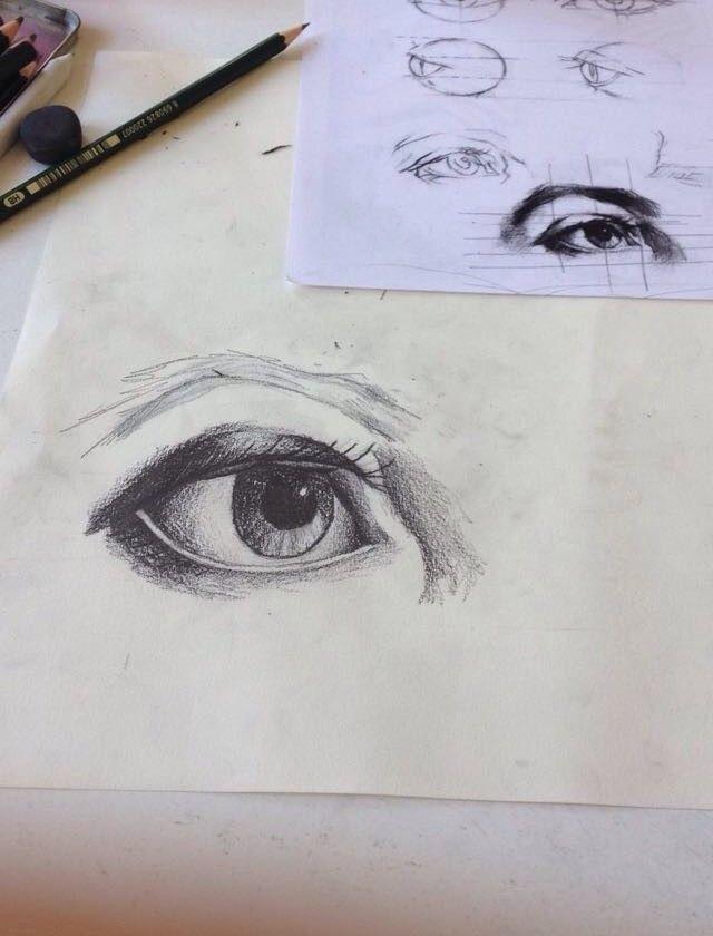 Drawing class 24/10/2014,  Rita Pereira.