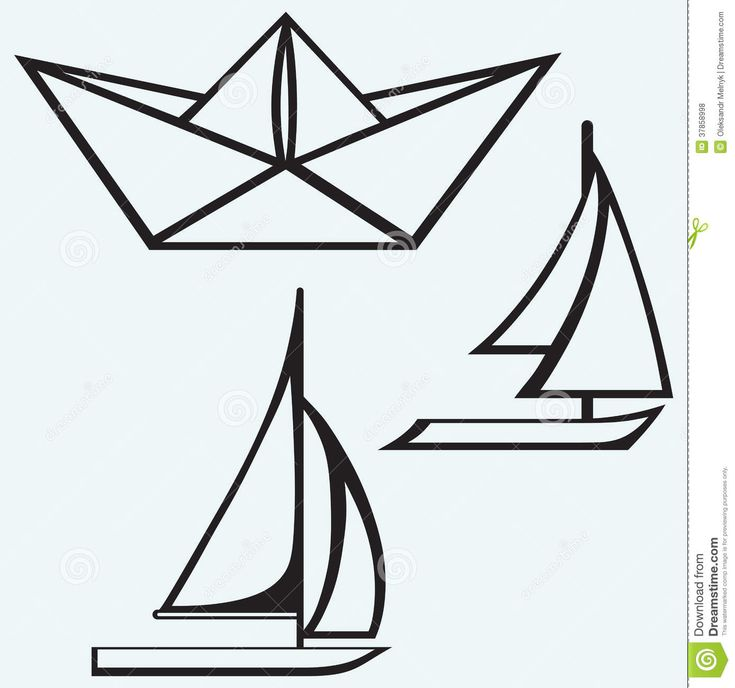ship drawing paper - photo #3
