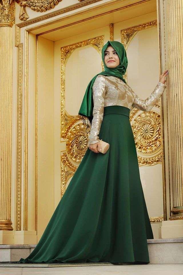 Kapalı Tesettürlü Nişanlık Modelleri | Kadın Portalı