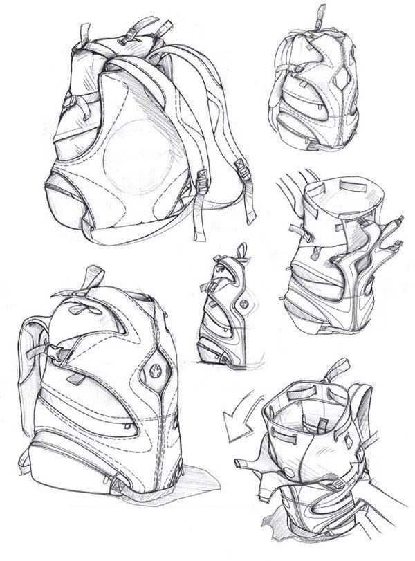 Slappa Stovepipe pack by studioFAR - Soft Goods Designer , via Behance #id #industrial #design #product #sketch