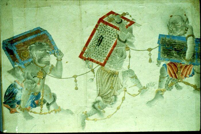 Uighur Manichaean Miniatures