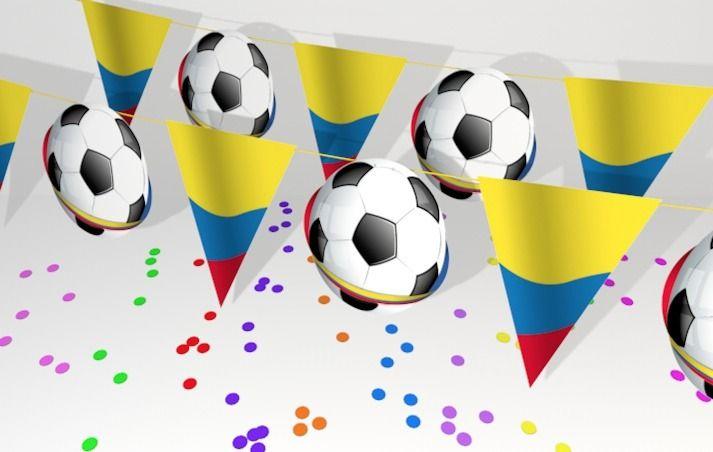 la Alegría del fútbol presente en Colombia