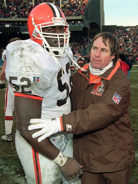 Remember when Bill Belichick was a coach for the Cleveland #Browns? | circa 1995