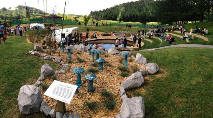 Taupo Lava Glass sculpture park.