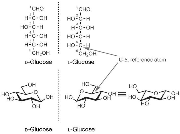 L Glucose Eantiomers: D a...