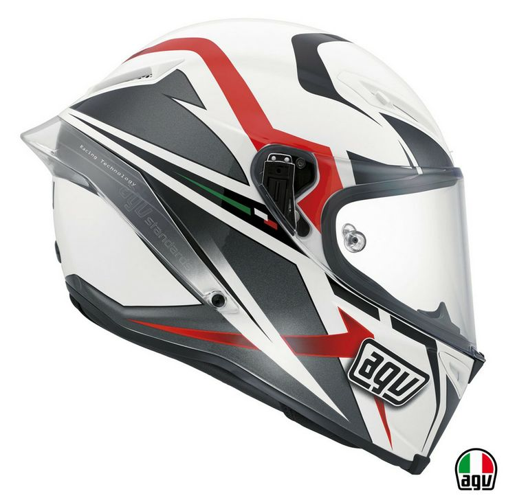 AGV Corsa - Velocity White/Black/Red