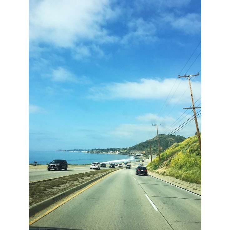 On the way to malibu #pacific #highway #malibu #zuma #romance #60s #filter #beautiful #california #losangeles