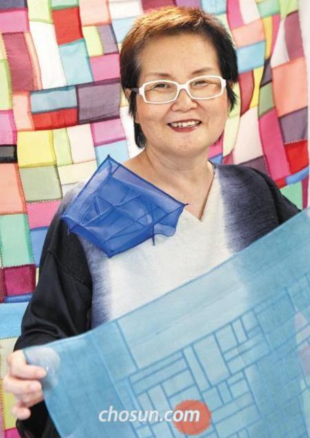 Bojagi artist, Lee Jung-Hee
