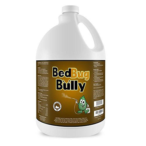 Bed Bug Killer & Prevention Spray by Bed Bug Bully - Natural Bed Bug Spray Used By Professionals & Certified By AAES and Pesticide Exempt By EPA - Child Safe & Pet Safe - 1 Gallon > Kills and Prevents Bed Bugs, Larvae, and Eggs Works Instantly on 1st Bed Bug Treatment No Harsh Odors - No Evacuation - No Throwing Away Valuables