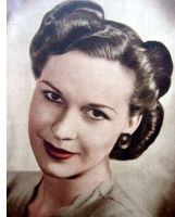 foto van kapsel uit de jaren 40