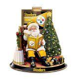 NFL Pittsburgh Steelers Talking Santa Claus Tabletop Centerpiece by The Bradford Exchange - Get the best price in here http://www.seasonal.dprets.com/nfl-pittsburgh-steelers-talking-santa-claus-tabletop-centerpiece-by-the-bradford-exchange/