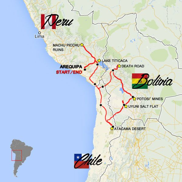 Moto Tour Machu Picchu y Salar de Uyuni