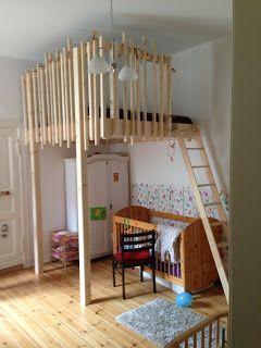 ber ideen zu hochbett bauen auf pinterest hochbetten treppenregal und hochbett selber. Black Bedroom Furniture Sets. Home Design Ideas