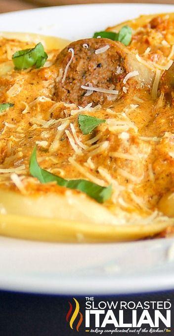Pierogies and Sausage with Sun-dried Tomato Cream Sauce