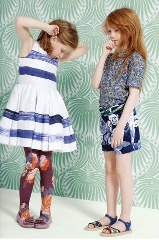"""Quinoa had only two words for Chevron's dress and tights combination: """"Um, no."""" #MIWDTD"""