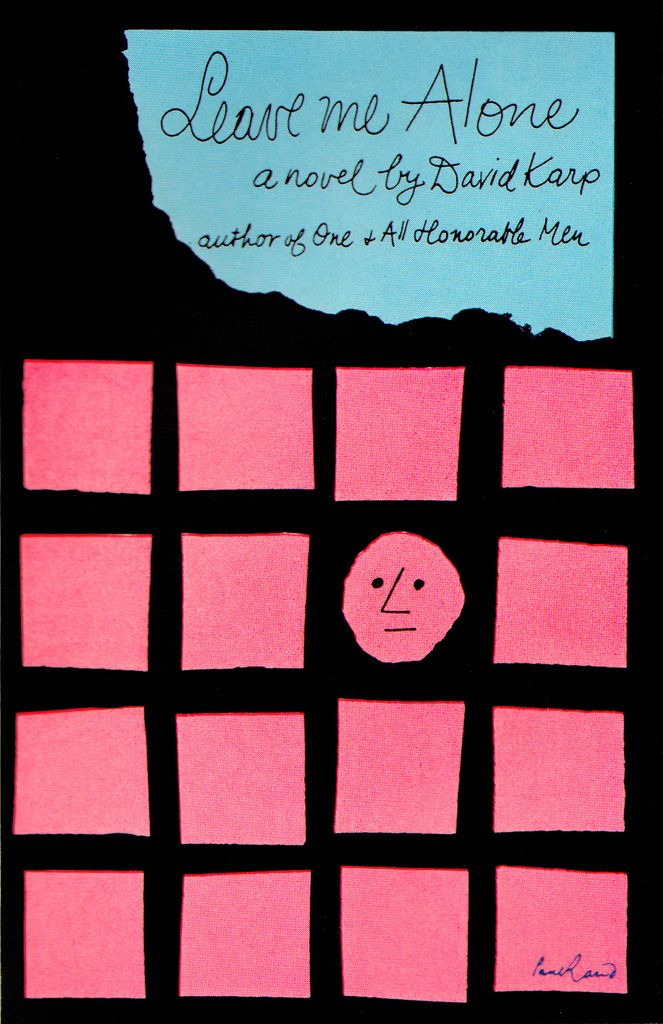 Leave Me Alone  cover designed by Paul Rand  1959