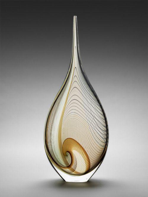"Italian glass artist Lino Tagliapietra .""Angel Tears,"" 1995, by Lino Tagliapietra."