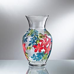 Painted Glass Vase 4k Pictures 4k Pictures Full Hq Wallpaper