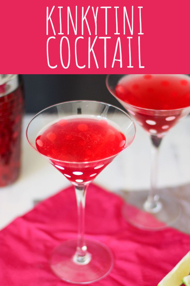 Kinkytini Cocktail A Nerd Cooks Nerd Cooking Cocktail Recipes Perfect Drinks