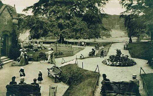 Warley Abbey gardens