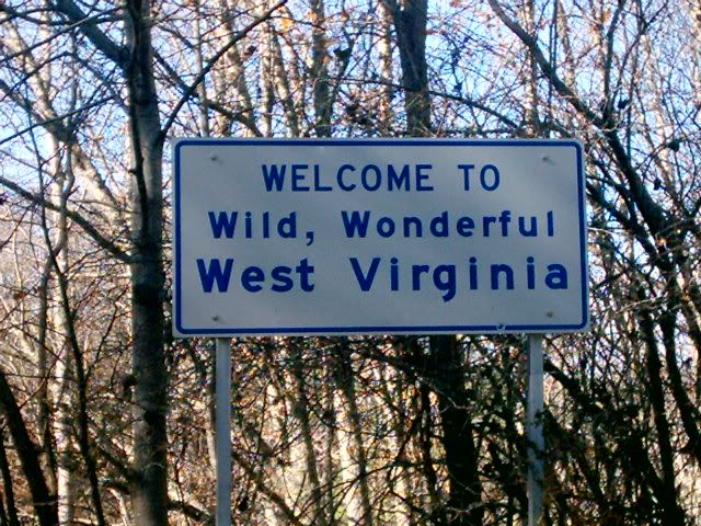 Welcome to Wild Wonderful West Virginia