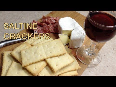 Home Made Saltine Crackers Thermochef Video Recipe cheekyricho