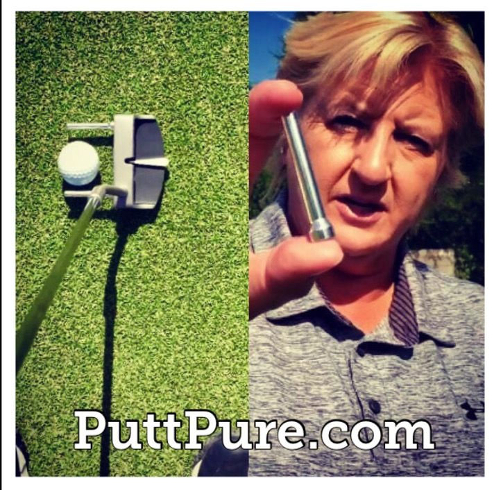 Putt with Pure Precision using @PuttPure mini magnetic ailignment rods!  Great #Golf #Gift #Ideas  http://www.PuttPure.com  #GolfTip #GiftIdea