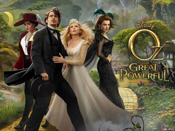 Weekend Box Office: Oz The Great and Powerful opens to $80 Million in the USA!