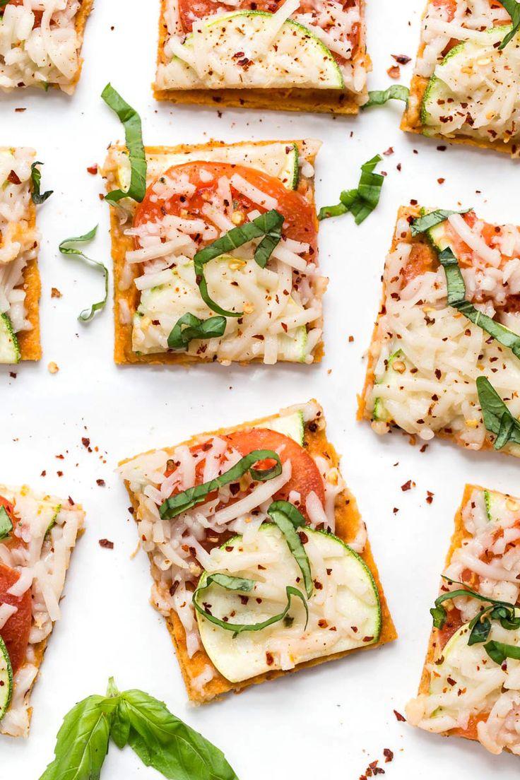 Summer Tomato & Zucchini Quinoa Pizza - Simply Quinoa