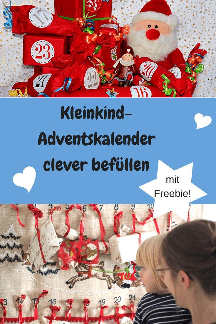 Schöne, kreative & preiswerte Geschenkideen für den Kleinkind-Adventskalender: Aktivitäten, Spiele, Zubehör zum Baden, Basteln & Bauen #Adventskalender #Geschenkideen  #Kleinkind