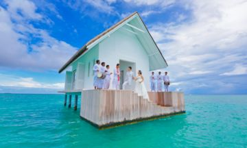 You Can Actually Get Married On This Slice Of Heaven In The Ocean