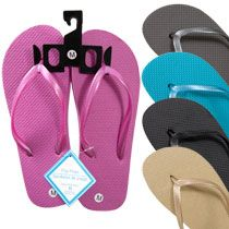 Bulk Ladies Pearl Strapped Flip-Flops at DollarTree.com