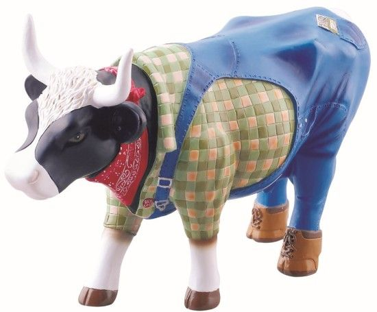 Cow Parade - Farmer Cow