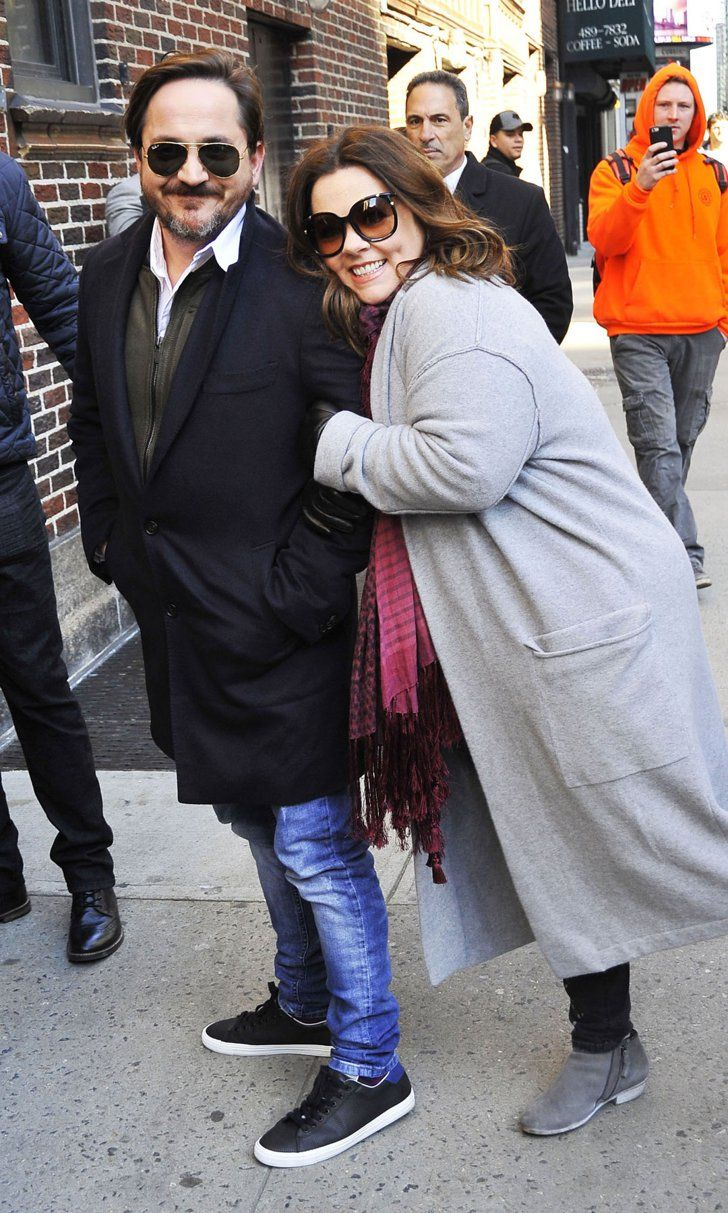 Melissa McCarthy Steps Out With Her Husband in NYC After Her Epic Lip Sync Battle