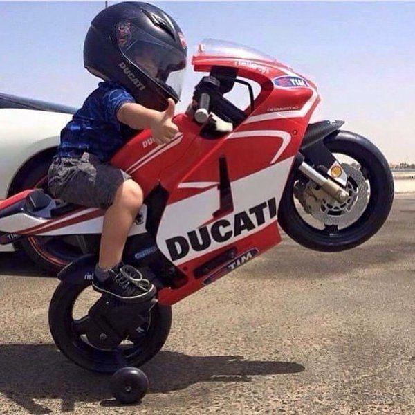 little boy on motorcycle - photo #7
