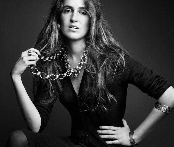 Bottega Veneta Jewelry 2013 Campaign    Model: Coco Brandolini d'Adda; Photo: Patrick Demarchelier