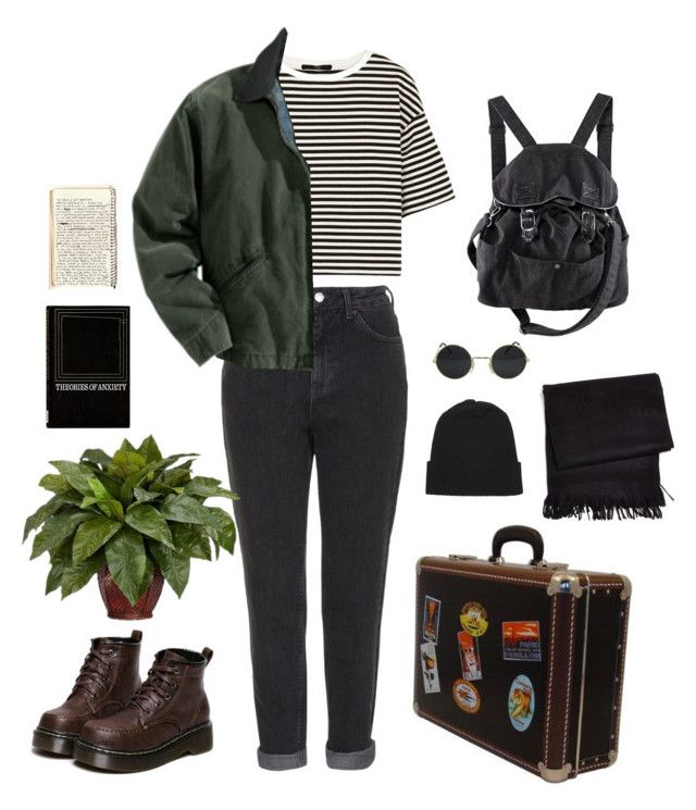 """59"" by eugecazzari ❤ liked on Polyvore featuring WithChic, TIBI, Topshop, Carhartt, Nearly Natural, Frette, Monki and H&M"