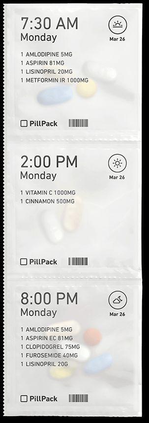 Packet strip