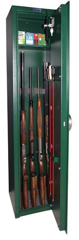 Minősített fegyverszekrény FSZ-5 - Strauss Metal lemezszekrény, fémszekrény - Strauss Metal Páncélszekrény Biztonságtechnika