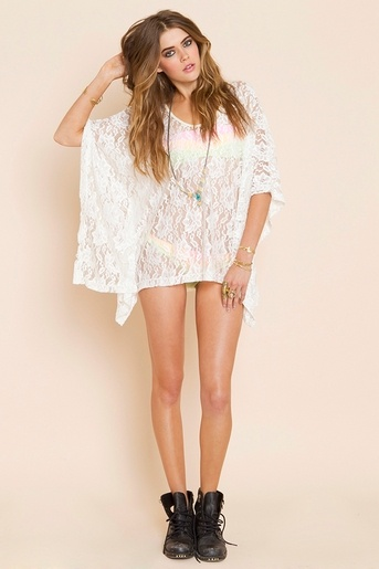 Lace Poncho: Crochet Poncho, Swimsuits, Swim Cover