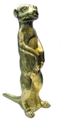 Ottmar Hörl - Erdmännchen - Gold