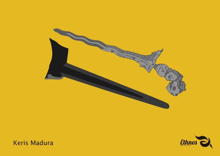 Tau ga sih, keris juga merupakan sebuah kerajinan tradisional dari Madura lho meskipun ga begitu diketahui sejak kapan keris sudah menjadi senjata tradisional masyarakat Madura. Tempat kerajinan keris sekarang berada di Kabupaten Sumenep di desa Aeng Tongtong, kecamatan Saronggi. Keris sekarang dan keris pada masa lalu berbeda sobat, kalau keris sekarang digunakan hanya untuk meningkatkan/menaikkan pamor seseorang dan keris pada masa lalu digunakan sebagai alat berperang.
