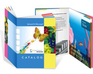 We offer a wide range of book printing options. With Dazzle Printing, you can print perfect bound books from 50 to 300 pages or — for smaller books — take a look at our saddle-stitch options in the Booklets & Catalogs and Magazines sections.