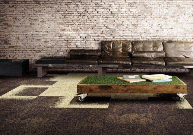 ковровая плитка в интерьере - Google Search