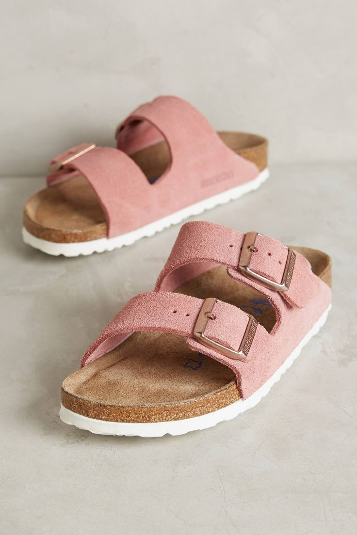 Birkenstock Suede Arizona Sandals