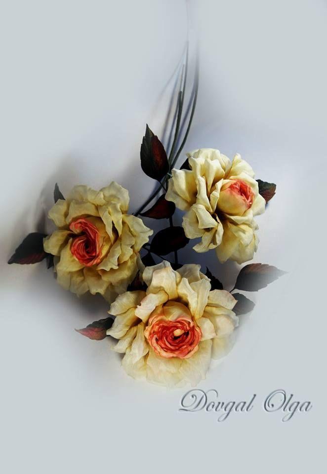 Розы для вашего интерьера . Эта роза хороша и в броши, особенно этой осенью..., добавит настроения и привлечет вниманиеВ наличии