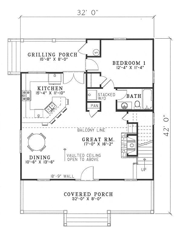 Awesome Vacation Cottage House Plans In 2020 Small Cottage House Plans Vacation House Plans Southern House Plan